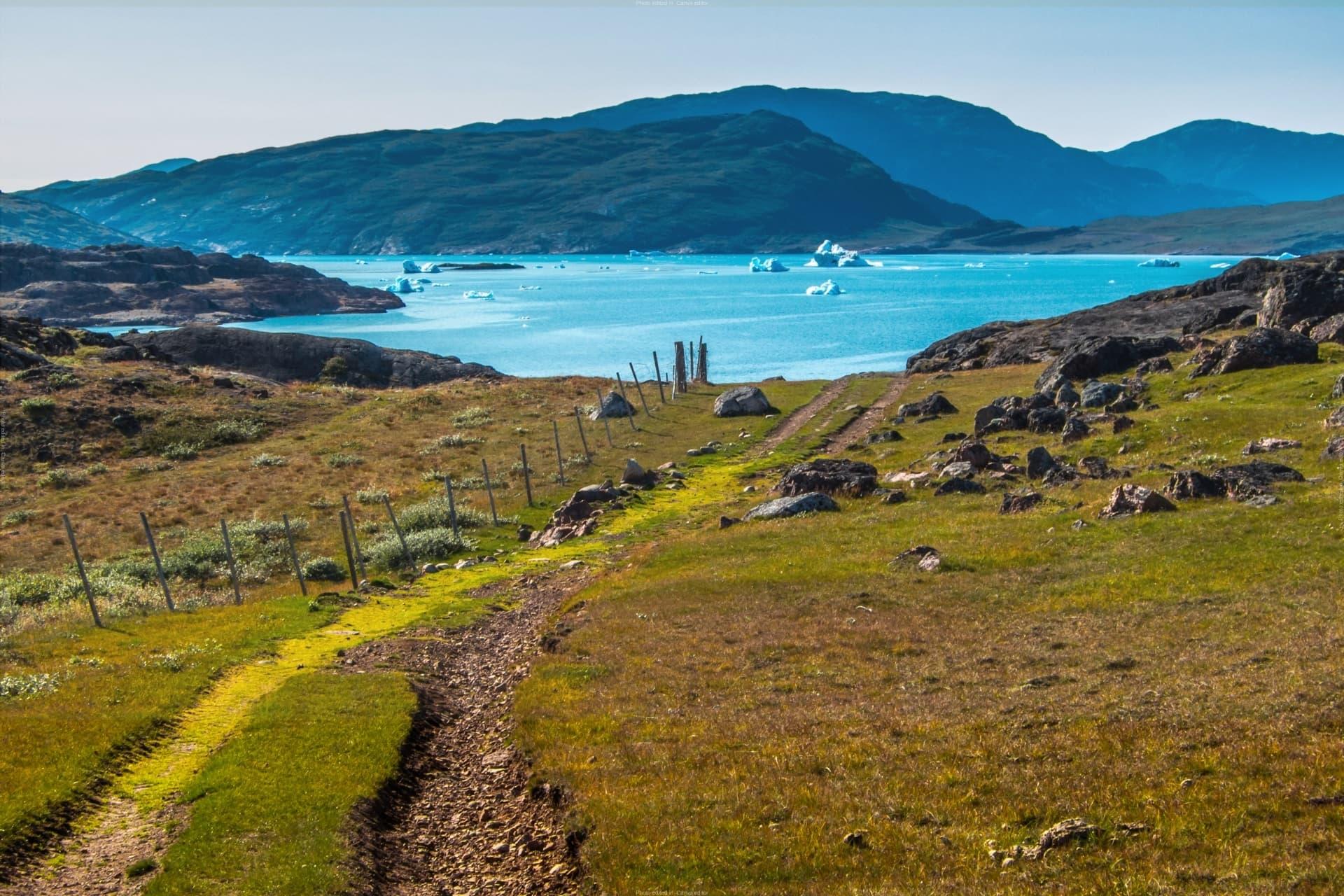 Grenlandija potovanje in treking