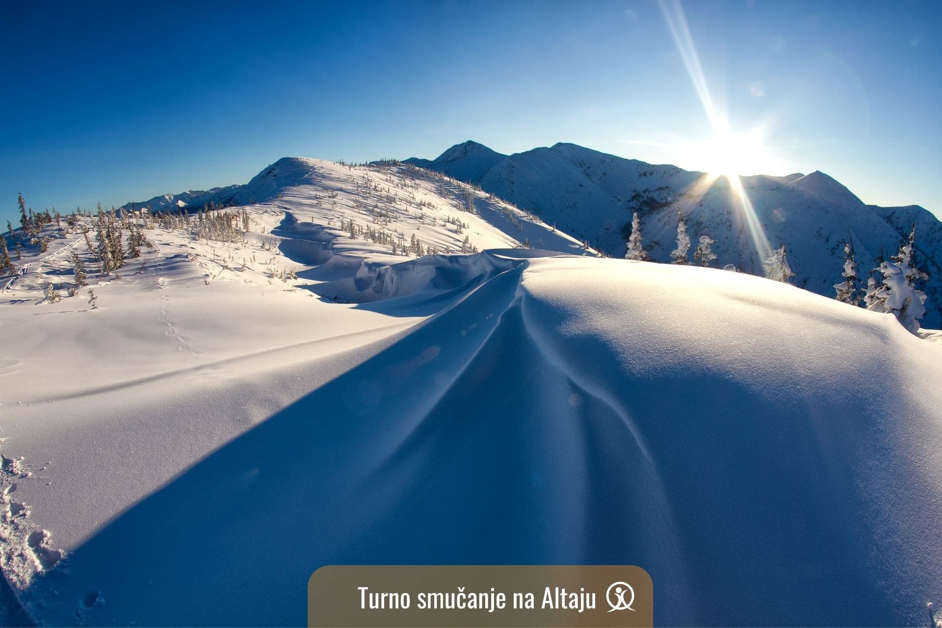 turno smučanje na Altaju