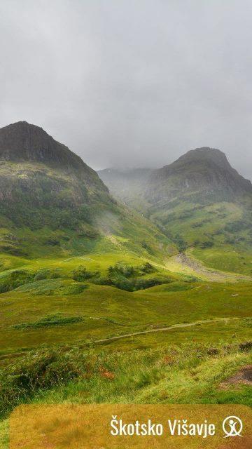 treking Škotska