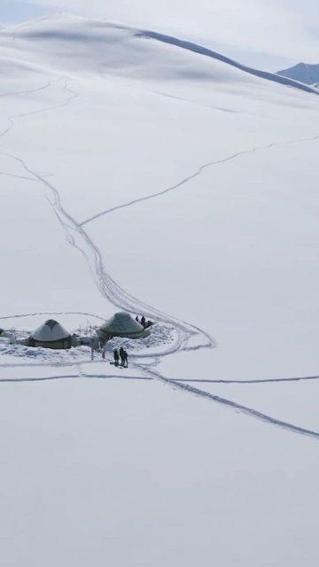 turno smučanje v Kirgiziji